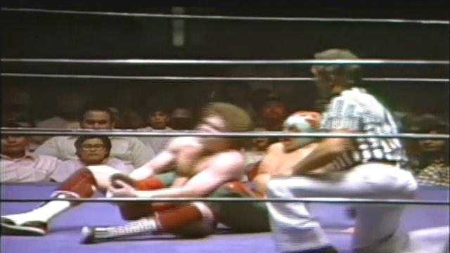 El Gran Apolo & Mil Mascaras vs. Tully Blanchard & Gino Hernandez