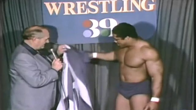 Tony Atlas vs. Gino Hernandez