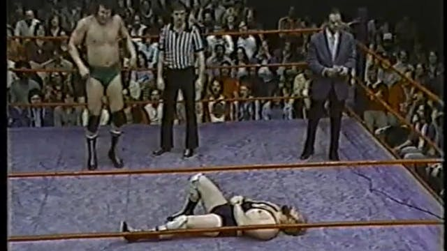 Cowboy Bob Orton VS Greg Lake