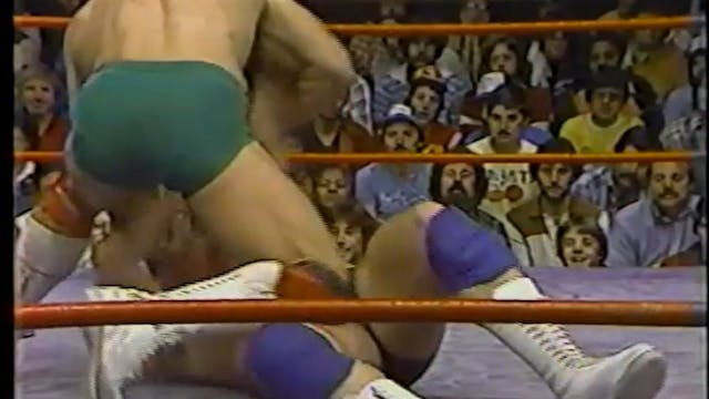 Kerry Von Erich VS Art Crews