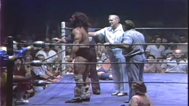 Harley Race vs. El Halcon (NWA TITLE)