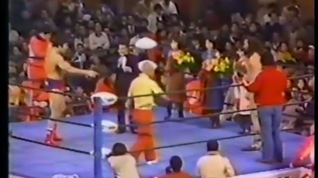 Bruiser Brody vs Jumbo Tsuruta (Japan)