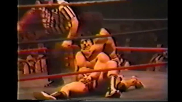 Dino Bravo vs. Jimmy Snuka