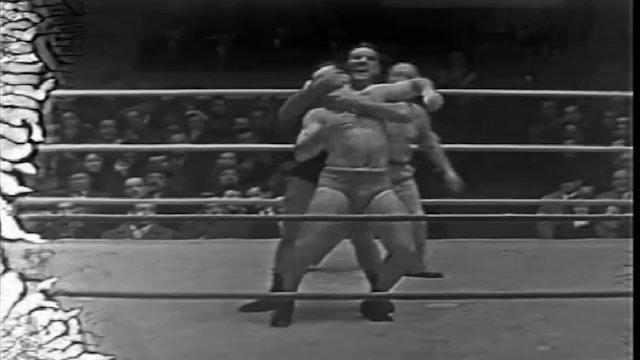 Johnny Rougeau vs. Len Montana