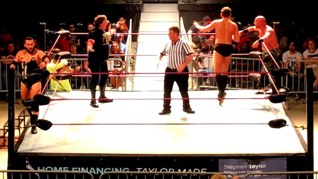 David Anthony & Tyson Dean vs. Tom Prichard & John Skyler