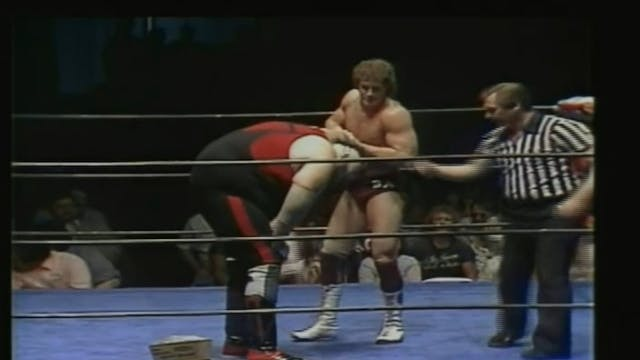 One Man Gang vs. Brad Armstrong