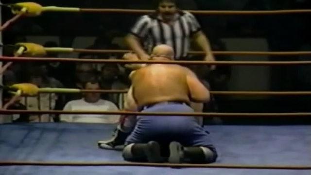 Dino Bravo vs Joe LeDuc