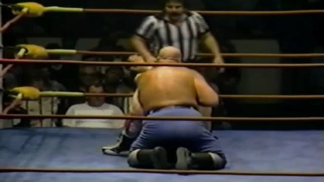 Dino Bravo vs Joe LeDuc