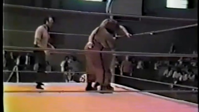 King Kong Brody Vs Abdullah the Butcher(House Show)