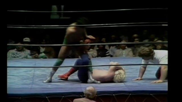 Eddie Mansfield vs. Chavo Guerrero