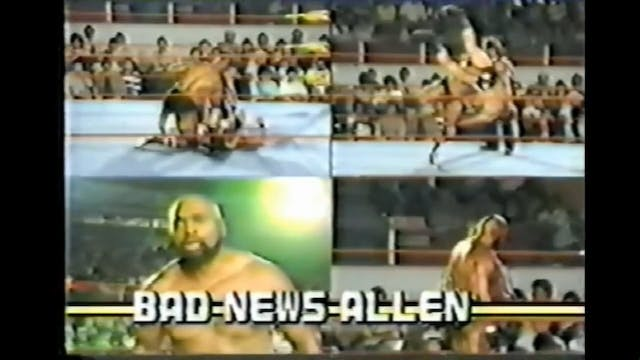Bad News Allen vs. Daniel Ray