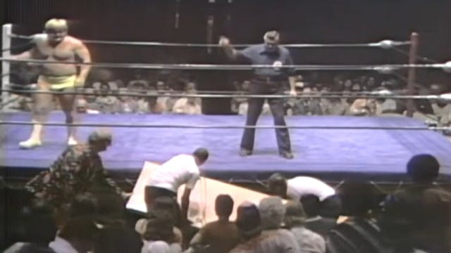 Greg Valentine vs. Tiger Conway Jr.