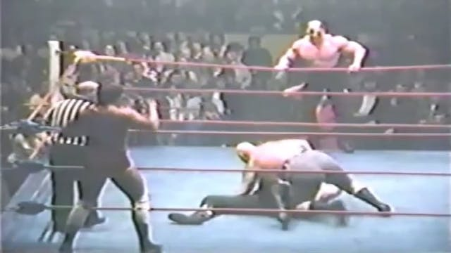 Jacques Rougeau & Jos LeDuc vs. Road ...