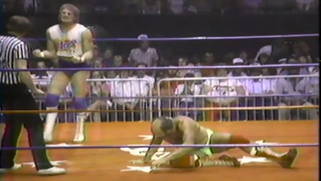 Scott Armstrong vs Jerry Stubs