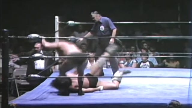 Bruiser Brody vs. Mark Lewin