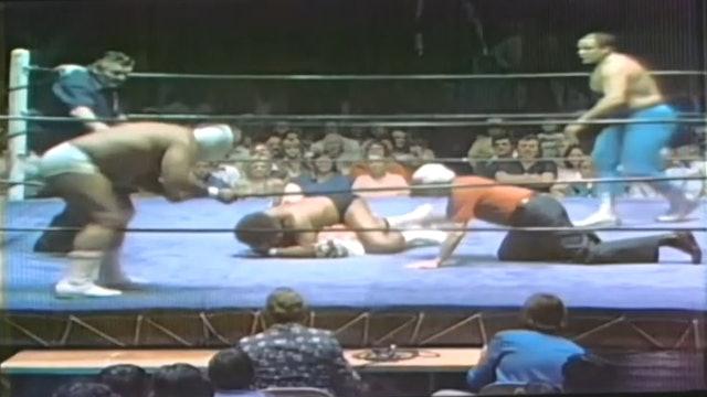 Gino Hernandez & Gran Marcus vs. Jose Lothario & Tiger Conway Jr.