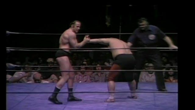 Mark Lewin vs. Toro Tanaka