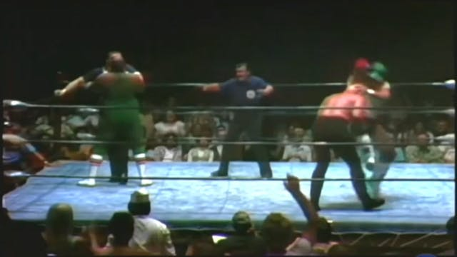 Lee Roy Brown vs. Killer Karl Krupp
