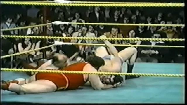 Dino Bravo vs. Giles Poisson