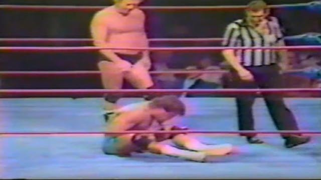 Tom Zenk vs. Nick Bockwinkle