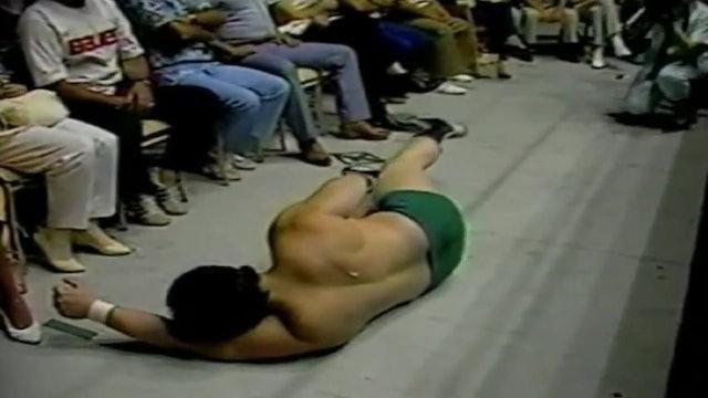 Dino Bravo vs Masked Superstar REMATCH