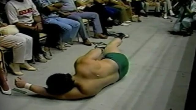 Dino Bravo vs Masked Superstar REMATCH