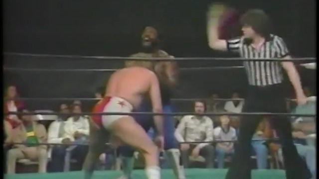 Ted DiBiase, Junkyard Dog, Tommy Rich vs. Freebirds Clip