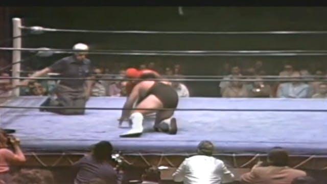 Wahoo McDaniels vs. Ichiban