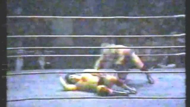 Dino Bravo vs. Nick Bockwinkle