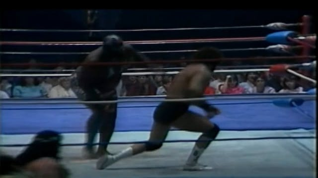 Billy Jack Haynes vs. Kamala