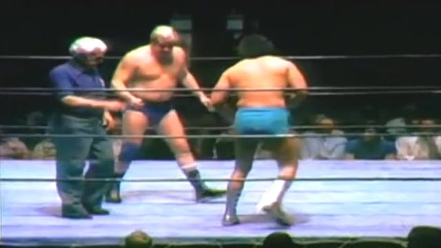 Dick Murdoch vs. Al Madril