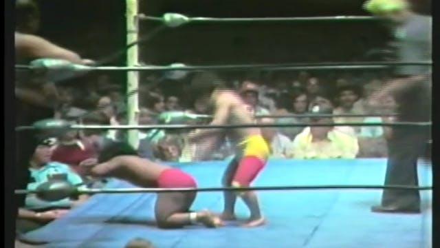 Kamada & Tokyo vs. Conway Jr. & Coconut Mixed Midget Match