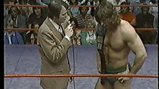 Kerry Von Erich VS Greg Lake with Ker...
