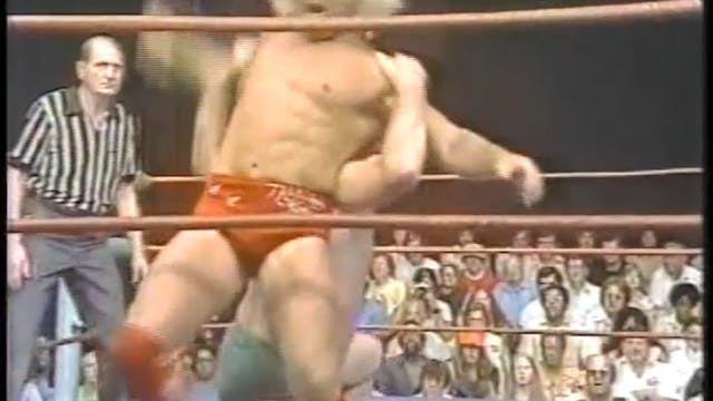 Ric Flair VS Pat O'Conner With Brawl ...