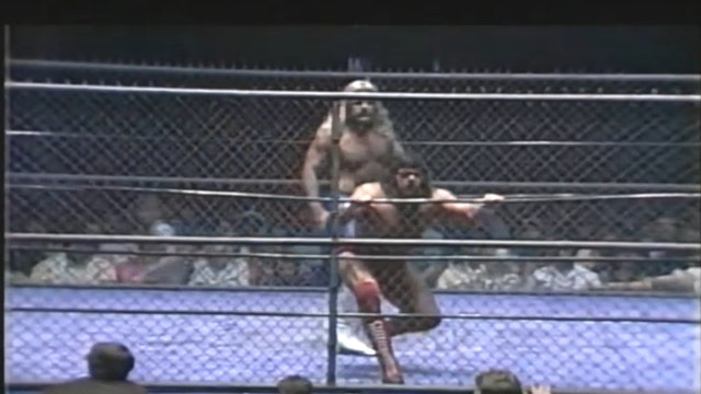 Micheal Hayes vs. Steve Williams (CAGE MATCH)