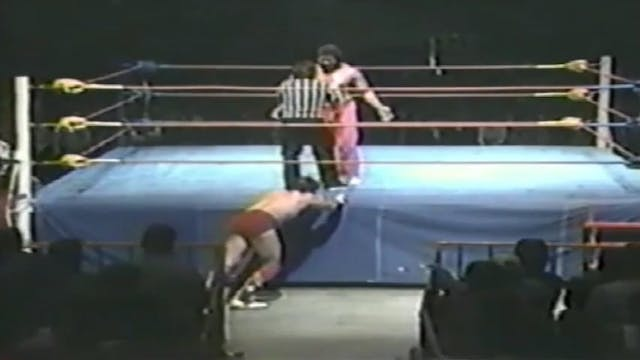 Rougeaus vs. Tarzan tyler, Richard Ch...