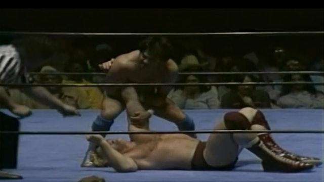 Nick Bockwinkle vs. Chavo Guerrero(AWA Title Match)