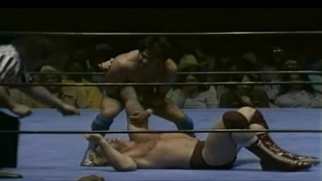 Nick Bockwinkle vs. Chavo Guerrero(AW...