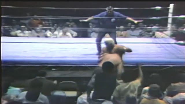 Dusty Rhodes vs. Bill White