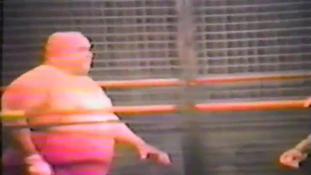 Gino Brito vs Abdullah Cage Match