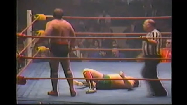 Dino Bravo vs. Sheik Ali