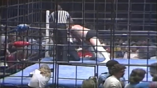 Jim Dugan vs. Scandor Akbar (CAGE MATCH)