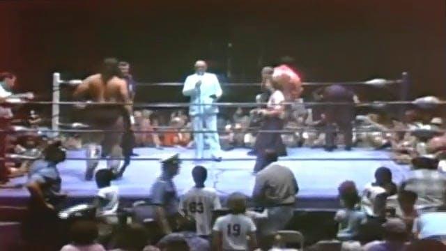 Bruiser Brody vs. Rocky Johnson