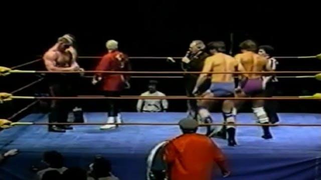 Road Warriors vs Rougeaus