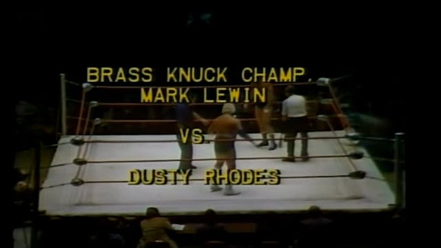 Dusty Rhodes vs. Mark Lewin