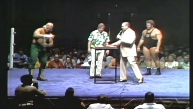 Arm Wrestling Superstar Graham vs. Ken Patera