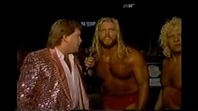 Dino Bravo & Micheal Hayes car incident