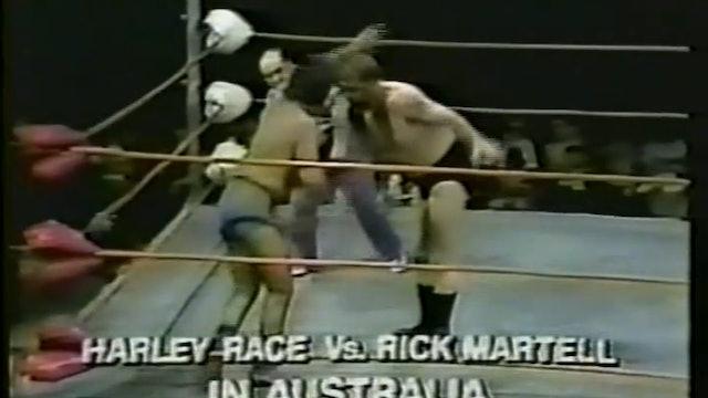 Harley Race VS Rick Martell