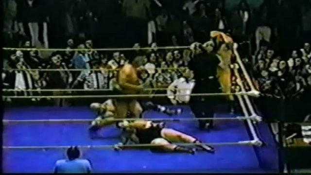 Paul LeDuc & Billy Two Rivers vs. Destroyer & Glen Sharkey