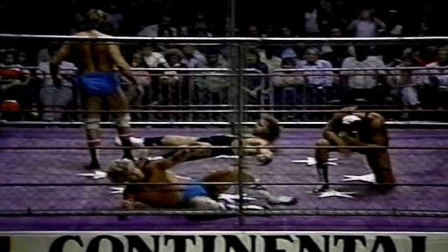 The Armstrongs vs Fuller & Golden(Cage Match)